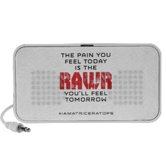Pain Today - RAWR Tomorrow iPhone Speaker