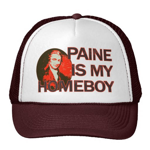 Paine Is My Homeboy Mesh Hat