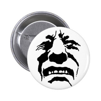"""""""Pained Guy"""" Limited Potential Fanzine button"""