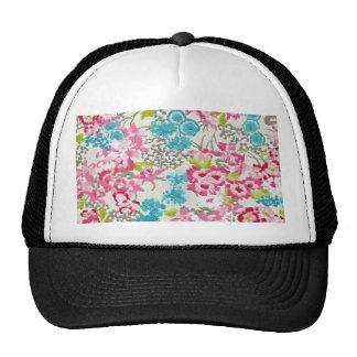 painel floral augarela mesh hats