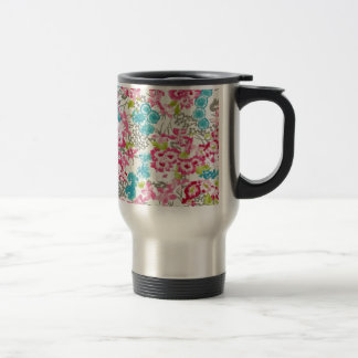 painel floral augarela mug