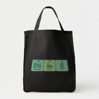 Pains-Pa-In-S-Protactinium-Indium-Sulfur png Tote Bags