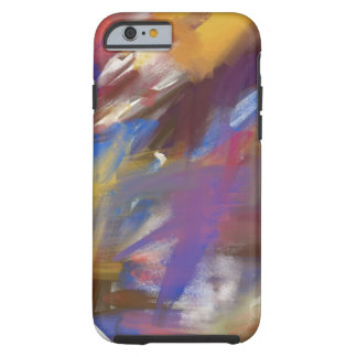 PAINT abstract brushstrokes Tough iPhone 6 Case