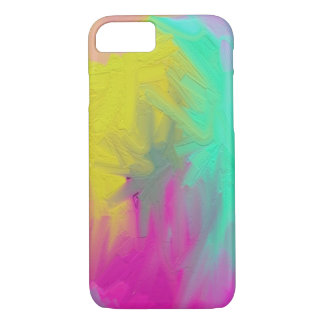 PAINT abstract vivid colors iPhone 8/7 Case