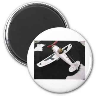 Paint  and Photo Colette .Private Object 6 Cm Round Magnet