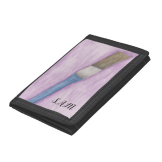 Paint Brush Tri-fold Wallets