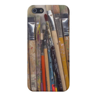 Paint Brushe i Case For iPhone 5/5S