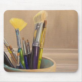 Paint Brushes Mousepad