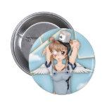 Paint Bucket Anime Angel Artwork Button