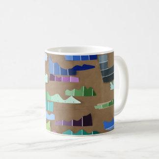 Paint Chip Waves Mug