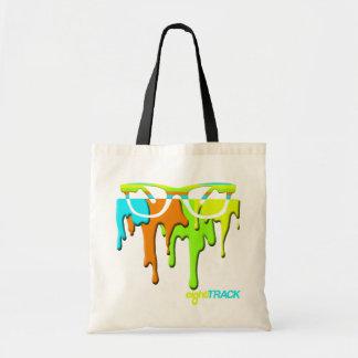 paint drip RAY BAN shopping bag