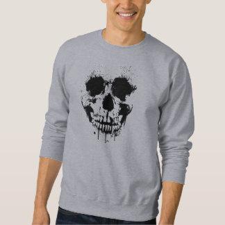 Paint Drip Skull Sweatshirt
