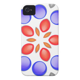 Paint Drop Kaleidscope Blackberry Cases