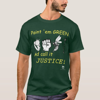 Paint 'em Green shirt