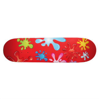 Paint Explosion 19.7 Cm Skateboard Deck