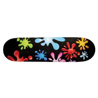 Paint Explosion 20.6 Cm Skateboard Deck