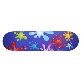 Paint Explosion 20 Cm Skateboard Deck