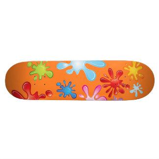 Paint Explosion 21.6 Cm Skateboard Deck