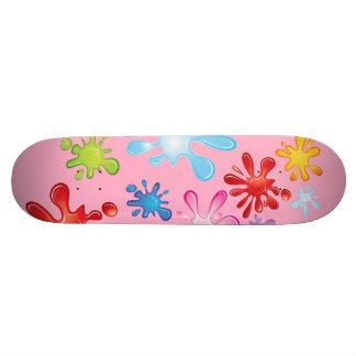 Paint Explosion Skate Board Deck