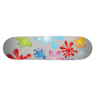 Paint Explosion Skate Board Decks