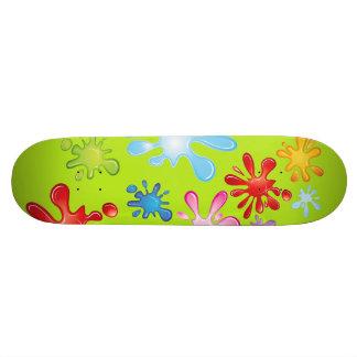 Paint Explosion Skate Decks