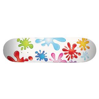 Paint Explosion Skateboard Decks