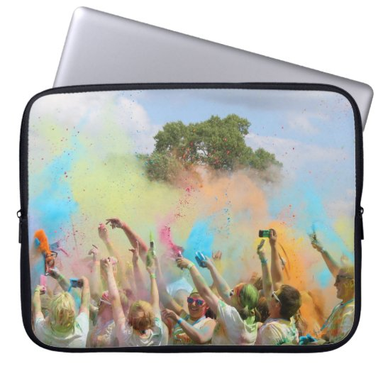 Paint Festival Laptop Sleeve