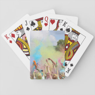 Paint Festival Playing Cards
