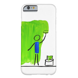 paint green barely there iPhone 6 case
