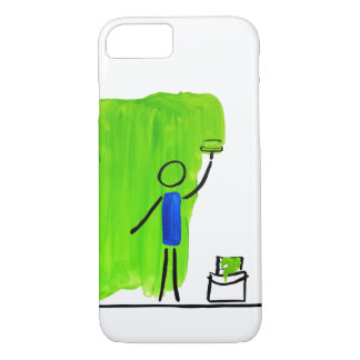 paint green iPhone 7 case
