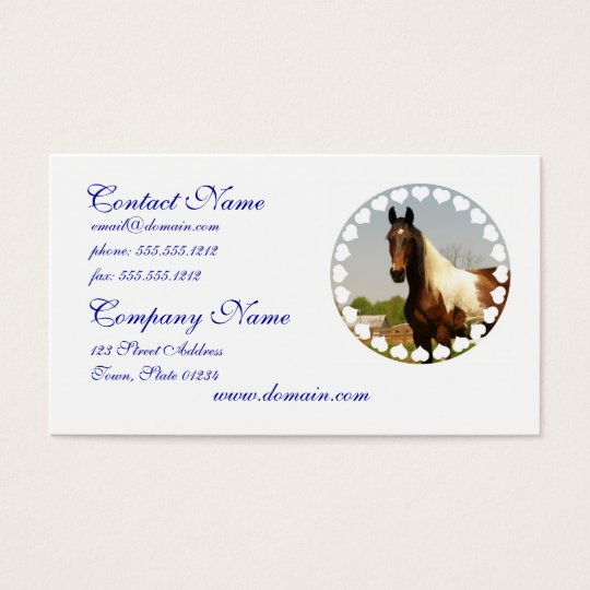Paint Horse Business Cards