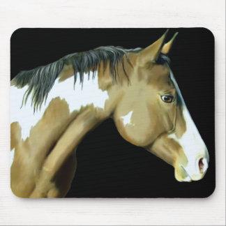 Paint Horse Lady Mousepad