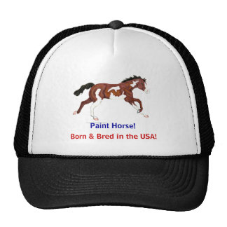 Paint Horse of the USA hat