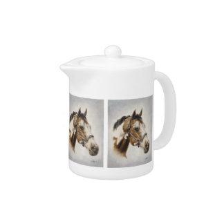 Paint Horse Teapot