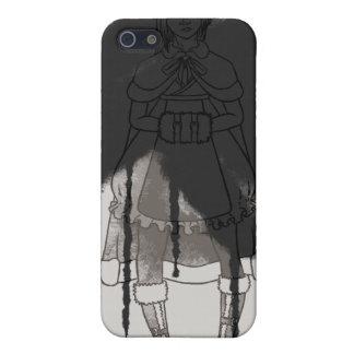 Paint It Black iPhone 5/5S Case