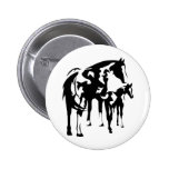 Paint Mare and Foal Button