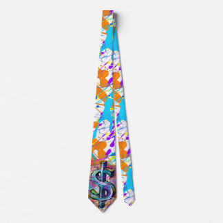 Paint Me Money Whimsical Tie