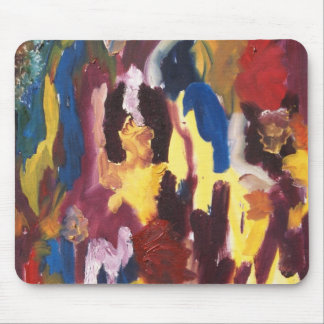 Paint Palette Abstract Mouse Pad