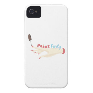 Paint Party iPhone 4 Cases