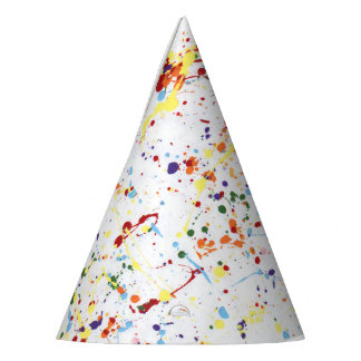 """Paint Party"" Party Hats"