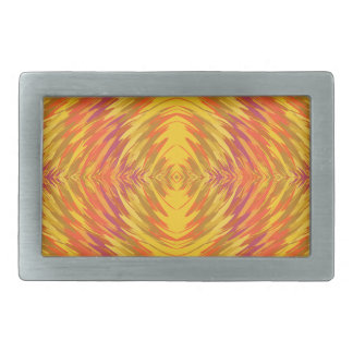 Paint pattern belt buckle