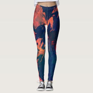 Paint Pattern Leggings