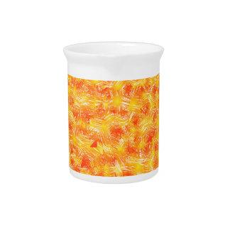 Paint pattern pitcher