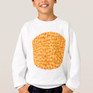 Paint pattern sweatshirt