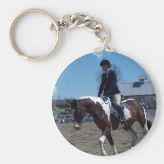 Paint Pony Horse Show Keychain