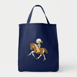 Paint Pony Tote Bag