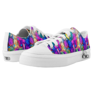 Paint Printed Shoes