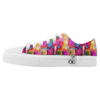 Paint retro low tops