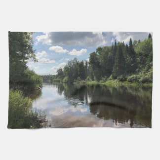 Paint River Michigan Dish Kitchen Towel