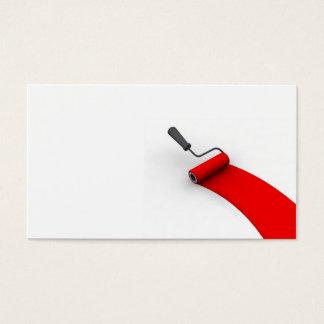 Paint Roller Business Card